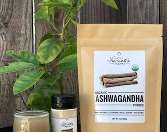 USDA Certified Organic Ashwagandha Powder