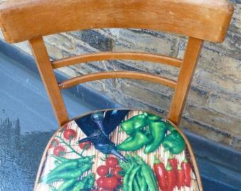 Original 1950s Vintage funky kitchen Chair