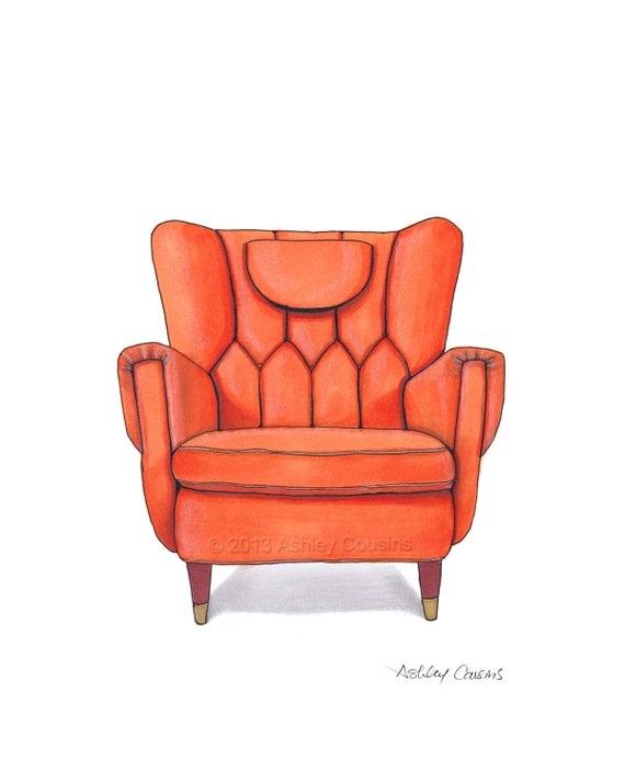 fancy couch drawing. Fancy Couch Drawing