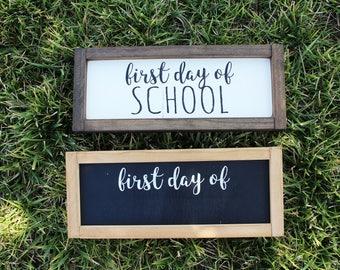 Back To School FARMHOUSE/CHALKBOARD SIGNS