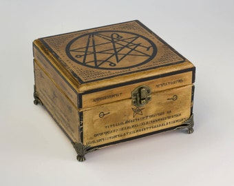 Necronomicon - Sigil of Gateway Small Box