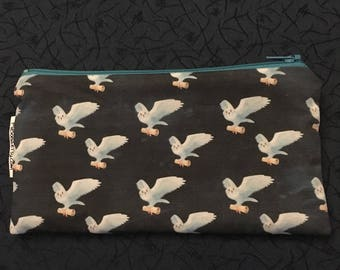 Owls Delivering Mail-Zipper Pouch