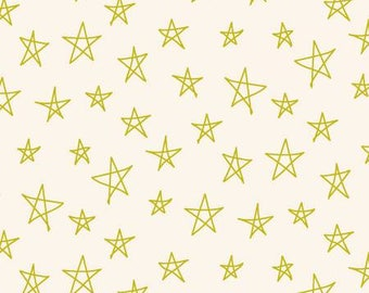170193 Citron Stars Notepad by Another Point of View Collection In Geometric