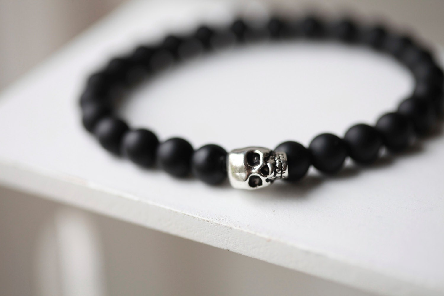 men bracelet onyx s beaded page product accessories jewellery london mens ommo black d for collection