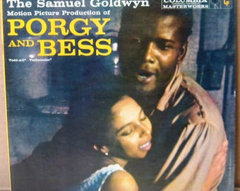 Vinyl LP Porgy and Bess-Original Soundtrack near mint,FREE SHIPPING