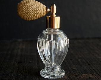 Atomizer Perfume Bottle Decanter- Empty Fancy Glass