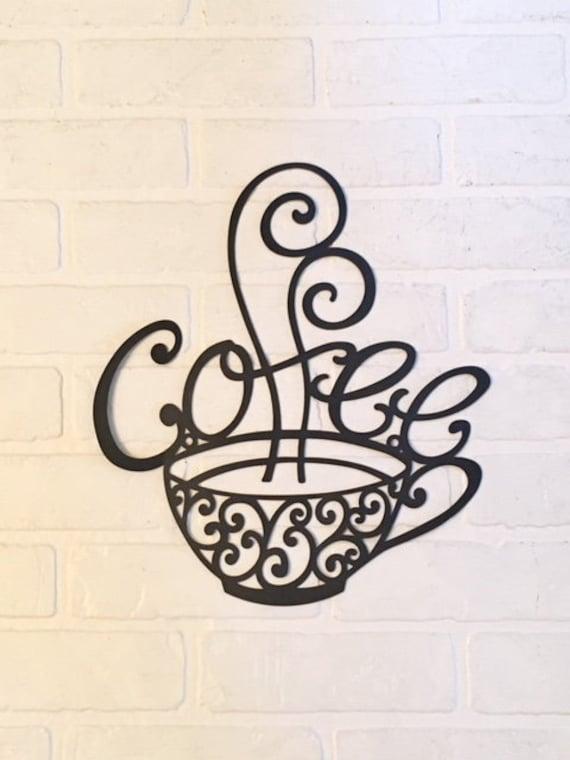 Kaffee Zeichen/Bauernhaus Dekor/Kaffee Dekor/Kaffee