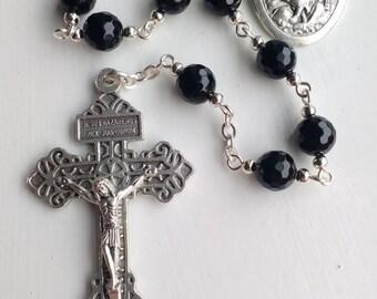 Pardon Crucifix One Decade Rosary.