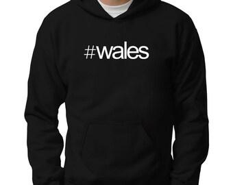 Hashtag Wales Hoodie