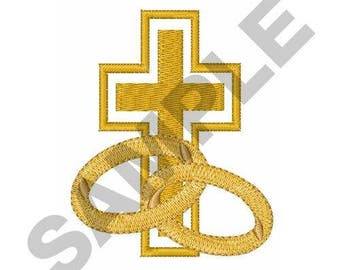 Christian Marriage - Machine Embroidery Design
