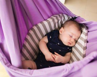 Baby Hammock, Unique Baby Gift, Baby Swing, Indoor Swing, Baby Shower Gift, Baby Crib, Baby Hammock Swing, Baby Girl Gift, Hanging Bassinet