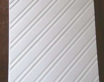 STYLISH STRIPES Embossed Card Stock Panels Perfect for Scrapbooking and Card Making - Set of 12