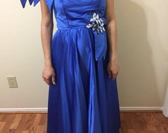 1970s alyce designs, prom dress, size 12