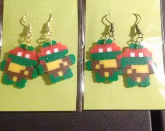 ninja turtle earrings
