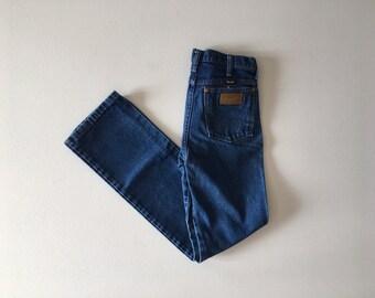 Vintage Wrangler Jeans / 28 x 31 vintage denim