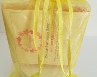 Summer Citrus Soap & Lotion Set