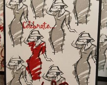 Celebrate YOU! Feminine Occasion Greeting Card