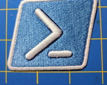 PowerShell embroidered patch