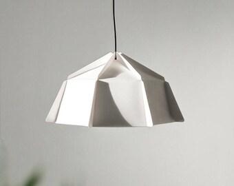 Amazing Paper Lamp | Geometric Lampshade | Printable PDF Pattern | DIY Paper Lamp  Shade
