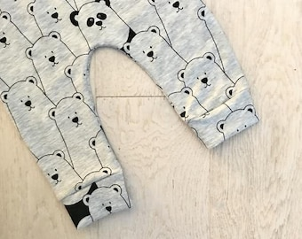 Teddy Baby & Toddler Leggings – Made to Order 0 Months - 4 Years