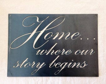 Home...Where Our Story Begins