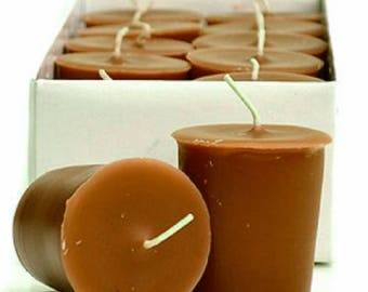 Caramel Apple  Scented 15 Hour Soy Votive Candle Pick A Pack