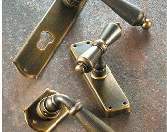 Oslo-Wrought iron handle collection/Wrought Iron Door Handle Collection