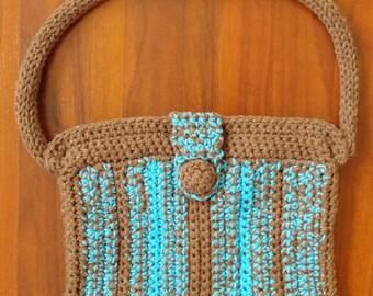 Crocheted Handbag with Handle