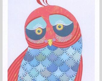 Little Birdy - Small Bird Art Print