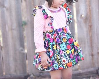 Floral Burst Skirt Suspender