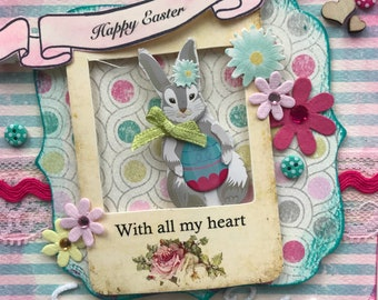 Siena Rose's Easter Card and 1st birthday