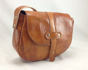 Handmade Leather Purse - Cross Body Bag - Classic Style