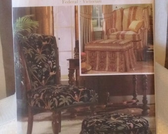 Simplicity 5085 - Showhouse Slipcovers - Federal & Victorian