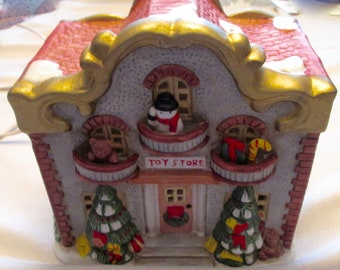 CHRISTMAS Village Toy Store