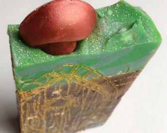 Fairy Garden / Gardeners Soap / Exfoliating Soap