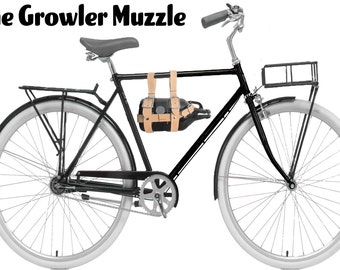 The Growler Muzzle ! (Leather growler holder)