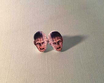 Pinhead Hellraiser Stud Earrings