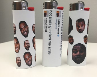 FLASH SALE Legend of Kanye West Custom Lighter SET (3 Lighters)