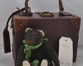 Forrest - Handmade Mohair Artist Bear OOAK