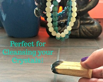 Palo Santo Sticks, Ethically Sourced from Peru, Cleansing Your Mala & Crystals - Clearing Negative Energy - Setting Intentions