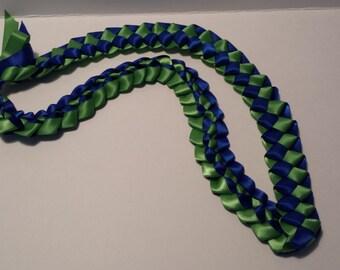 Hawaiian Braided Ribbon Leis