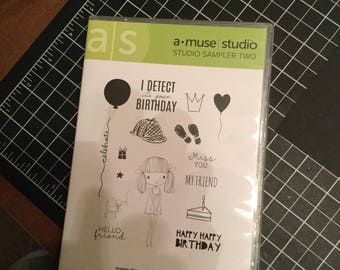 DESTASH - Amuse Stamp Set - Sampler Two