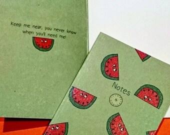 A5 Watermelon Notebooks