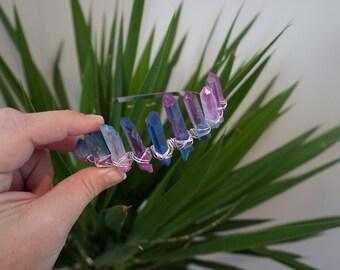 Crystal Crown - Blue/Pink