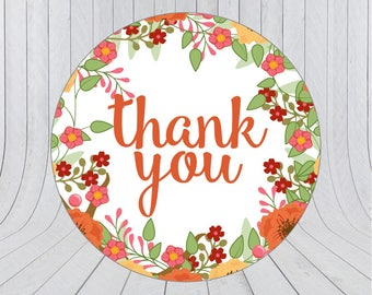 Thank you stickers, thank you labels, packaging stickers, packaging labels, wedding stickers,238