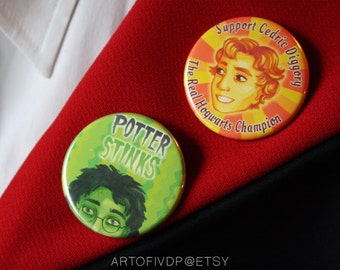 Pins: Support Cedric Diggory/Potter stinks
