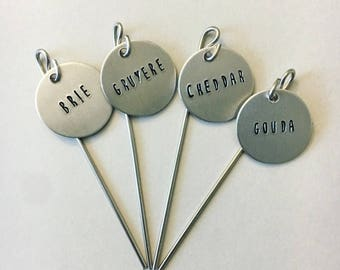 Cheese Markers - Set of 4