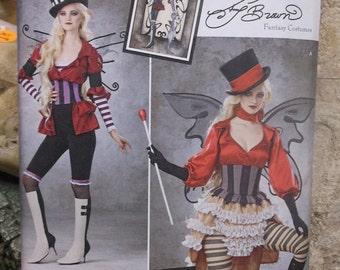 Steampunk Fairy Costume Pattern - XS-Medium