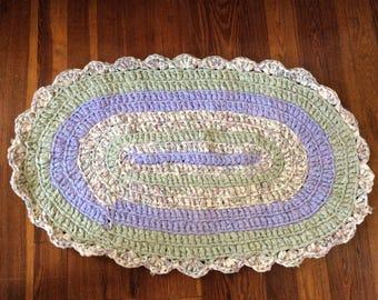 Shabby Chic Rag rugs