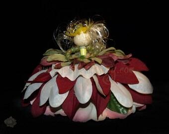 Ashlee the Flower Petal Faerie, Fairy, OOAK
